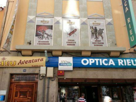 Tienda Rieu Aventura en Tenerife