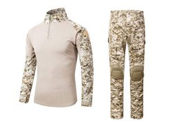 Uniforme Desert Digital Guerrera ajustada Transpirable  Emerson