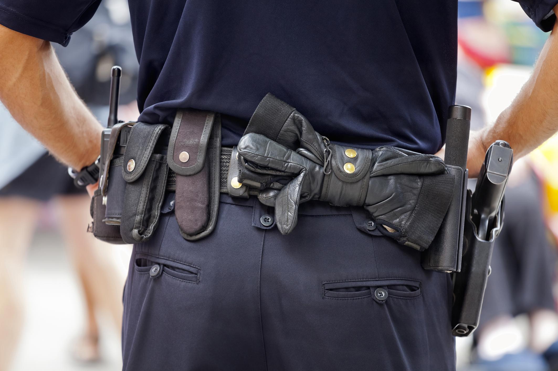 Equipo Policial en Tenerife